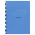 AZONE Team Ring Notebook, A4 (Blu)