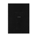 AZONE Team Ring Notebook, A4 (Blk)