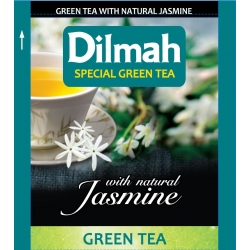 DILMAH Tea Bag - Jasmine Green Tea 100's