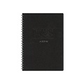 AZONE Team Ring Notebook, A5 (Blk)