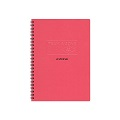 AZONE Team Ring Notebook, A5 (Red)
