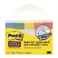 3M Post-It Page Marker 700CR-SSN 15mm x 50mm (5C, Neon)