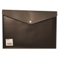 BINDERMAX  A4 Two Tones Button Wallet 01145-1 (Black)