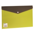BINDERMAX  A4 Two Tones Button Wallet 01145-1 (Lime)