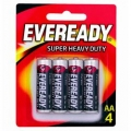 ENERGIZER Eveready AA Battery, 8's
