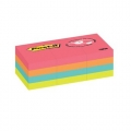 "3M Post-it Premium Notes 653-12AN 1.5""x2"" (12 Pads, Neon)"