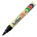 ARTLINE Permanent Marker EK-70, Bullet Tip (Black)