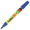 ARTLINE Permanent Marker EK-70, Bullet Tip (Blue)