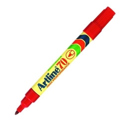 ARTLINE Permanent Marker 70, Bullet (Red)