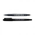ZEBRA Twin Tip Marker Mo-120-MC (Black)