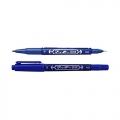 ZEBRA Twin Tip Marker Mo-120-MC (Blue)