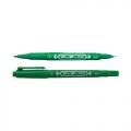 ZEBRA Twin Tip Marker Mo-120-MC (Green)