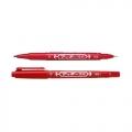 ZEBRA Twin Tip Marker Mo-120-MC (Red)