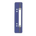 Durable Flexi Filing Strip Fasteners, Dark Blue