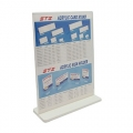 STZ Acrylic Literature Holder 50820 A4 with H.Base