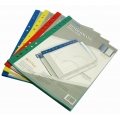 BINDERMAX 11-Hole 10-Pocket Book, A4 (Blu)