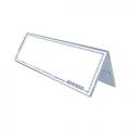 STZ Acrylic Card Stand 50992, Inverted V-Shape