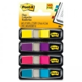 3M Post-It Tape Flags 683-4AB 0.5'' x 1.7'' (4 Colours)