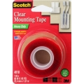"3M SCOTCH MOUNT TAPE 4010 1""X60 CLEAR"