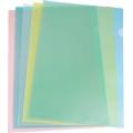 BINDERMAX L-Shape Folder, 12's F4 (Ass.Col)
