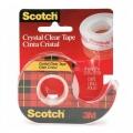 Scotch Cyrstal Clear Tape CC1920D 19mmx20m w/Dispenser