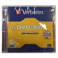 VERBATIM DVD+RW 4X, Jewel Case 1's