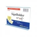 "STZ Horizontal Acrylic  Sign Holder 12x8.5"""