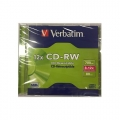 VERBATIM CD-RW 4X-12X, Jewel Case 1's