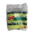 3M Scotchbrite Heavy Duty 2in1 Anti-bacterial Scrub Sponge, 3's