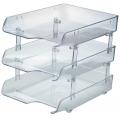 Kapamax Crystal Paper Tray 3-Tier