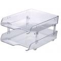 Kapamax Crystal Paper Tray 2-Tier