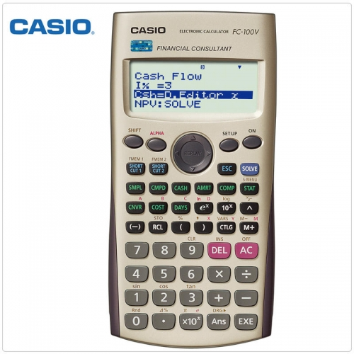 Casio Financial Calculator FcV