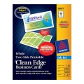 Avery Clean Edge Business Card 28877 -Inkjet Print