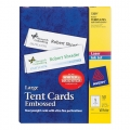 AVERY Tent Card 5309, 3.5'' x 11'' 50's