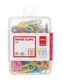 Deli Colour Paper Clips Set 0024, 29mm 100's