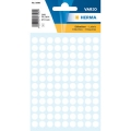 Herma Label 1840 ø8mm White (540 Labels/Pack)