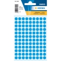 Herma Label 1843 ø8mm Blu (540 Labels/Pack)