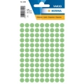 Herma Label 1845 ø8mm Grn (540 Labels/Pack)