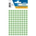 HERMA Label 1845 ø8mm, 540 Labels (Grn)