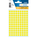 Herma Label 1841 ø8mm Yel (540 Labels/Pack)