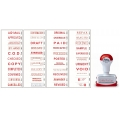 """SHINY Pre-Inked Stamp ND03 """"DUPLICATE"""""""