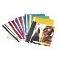 Durable Clear View Folder 2570 Violet A4