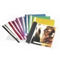 Durable Clear View Folder 2570 Crimson A4
