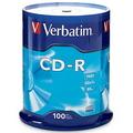 VERBATIM CD-Recordable 52X, Spindle 100's