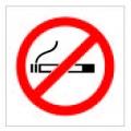 "COSMO Acrylic Signage ""No Smoking Sign"""