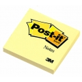 "3M Post-It Notes Pad 654 3""x3"", 100's (Yellow)"