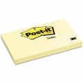 "3M Post-It Notes Pad 655 3""x5"", 100's (Yellow)"