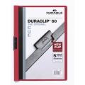 DURACLIP Folder 2209, A4 (Red)