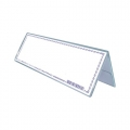 STZ Acrylic Both Card Stand 50993
