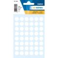 HERMA Label 1860 ø12mm, 240 Labels (Whi)